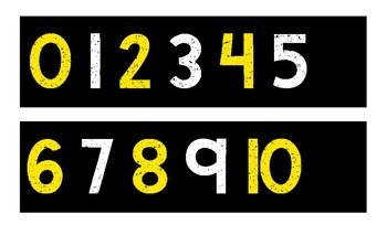 Number Line for Even/Odd Numbers 0-120 {Black Series}