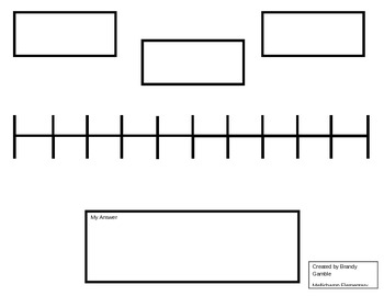 Number Line for Rounding