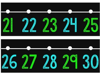 Number Line for the Classroom