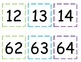 Number Line to 135