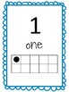 Number Posters to 20 with Ten Frames