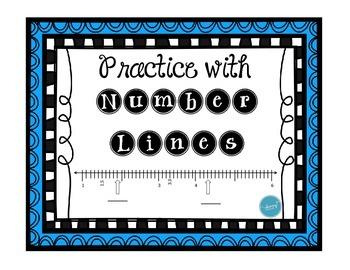 Number Line with Decimals Practice