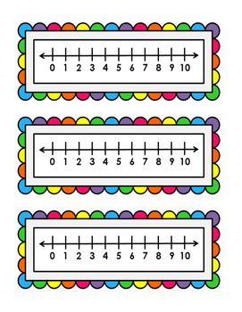 Number Lines (0-10)