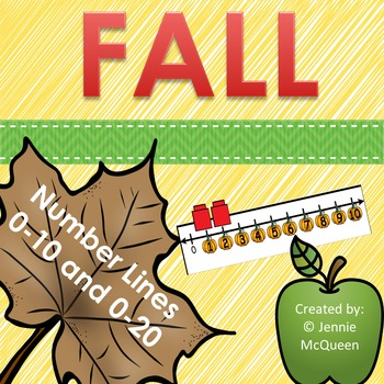 Number Lines 0-10 & 0-20 (FALL!)
