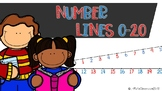 Number Lines 0-20