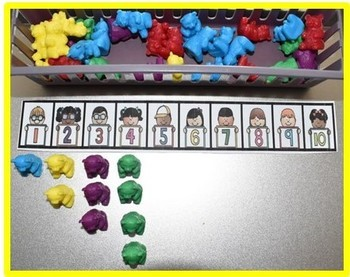 Number Lines 1-10 and 1-20 {FREE}