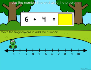 Original on missing number line worksheets