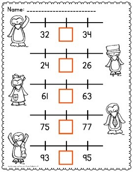 Number Lines Worksheets