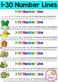 1-30 Number Lines