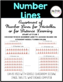 Number Lines Assortment