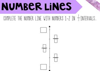 Number Lines Boom Cards