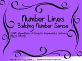 Number Lines:  Building Number Sense