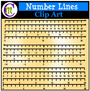 Number Lines Clipart