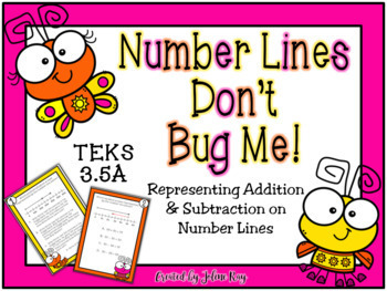 Number Lines Don't Bug Me; TEKS 3.5