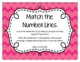 Number Lines - Matching (2.MD.6)