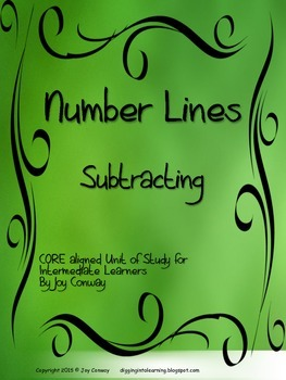 Number Lines Subtracting