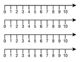 Number Lines Template