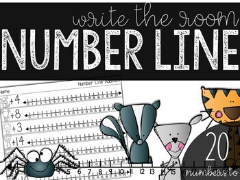 Number Lines: Write the Room