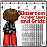 Number Line and Grids for the Wall and Student Desks