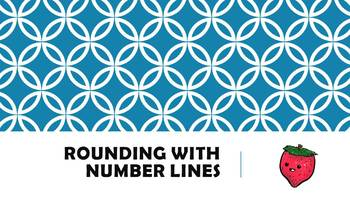 Number Lines and Rounding (3 Days of Lesson in 1)