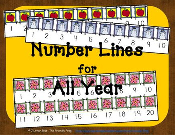 Number Lines for All Year