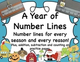 Number Lines for Every Season and Every Reason