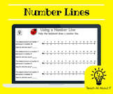 Number Lines for Year 1 - 2 / Grade 2 - 3