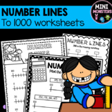 Number Lines to 1000