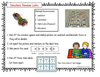 Number Links: A Collaborative Model for Young Learners