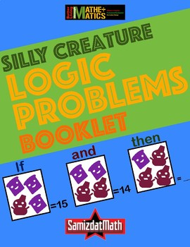 Number Logic Puzzles Silly Creatures • Customize Yourself • L@@K!