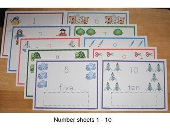 Number Magnet Spelling