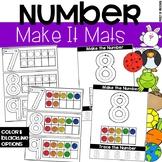 Make It Number Mats - Fine Motor Fun!