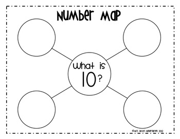 Number Maps 0-10