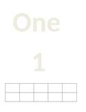 Number Mat 1-10