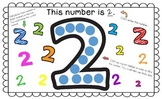 Number Mat - A Number Identification Activity 0 - 10
