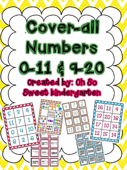 Number Match 0-20 Cover All