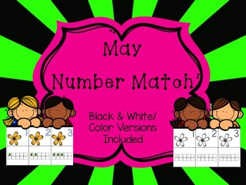 Number Match 1-10 {May}