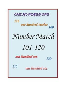 Number Match 101-120