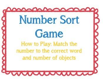 Number Match 0-10