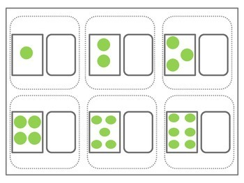 Number Recognition File Folder Activity