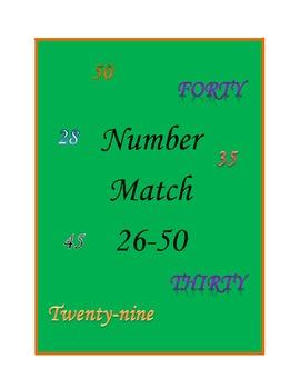 Number Match 26-50