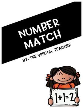 Number Match FREEBIE