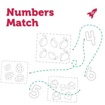 Number Match Worksheets
