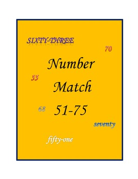 Number Match 51-75