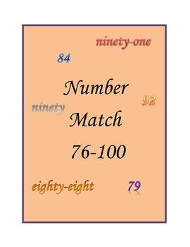 Number Match 76-100