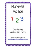 Number Match Activitiy