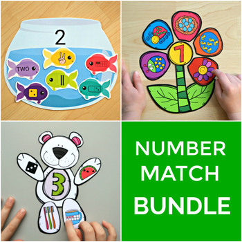 Number Match Bundle