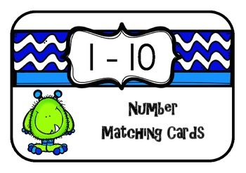 Number Match Cards