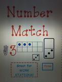 Number Match Center