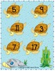 Number Match File Folder Game (OCEAN THEME)
